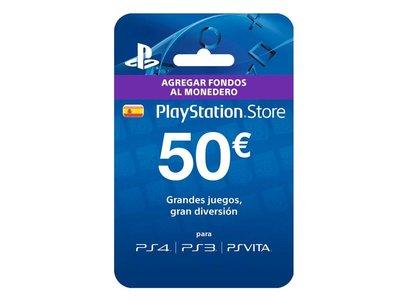 Duros a 4 pesetas: en eBay tienes de nuevo la tarjeta prepago para PSN de 50 euros por sólo 39,99