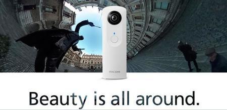 Ricoh Theta m15, interesantes novedades en la cámara 360º más pequeña