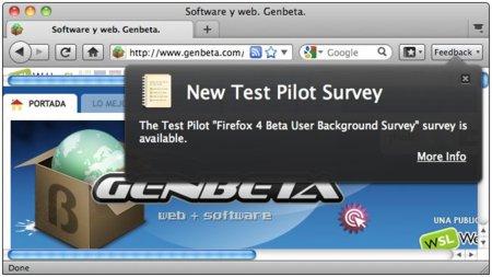 Llega la tercera beta de Firefox 4, dos betas más están de camino