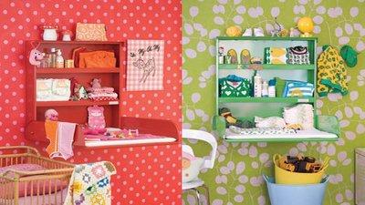 ByBo Design: nuevos cambiadores de pared de colores