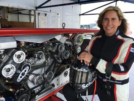 Valerie Thompson a más de 500 km/h, este es el nuevo récord de la reina de la velocidad