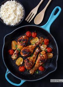 Jamoncitos de pollo picantes al horno. Receta