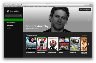 Xbox Video lanza versión web