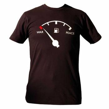 Camiseta contra la guerra por el petróleo