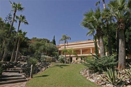 Una suntuosa villa en Ibiza
