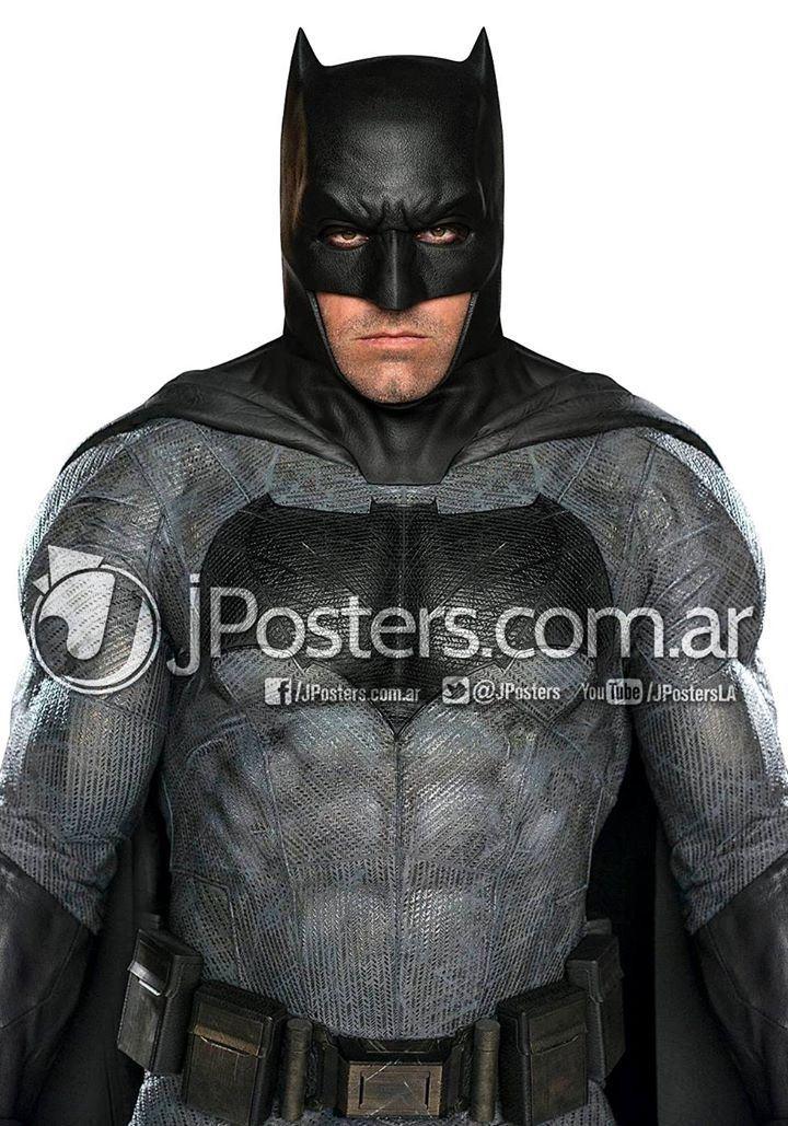 Imagen completa a todo color de Ben Affleck como Batman