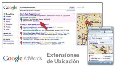 Google empieza a cobrar por las extensiones de ubicación en AdWords
