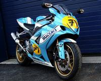 "Se venden seis GSX-R1000 con decoración ""Barry Sheene"""
