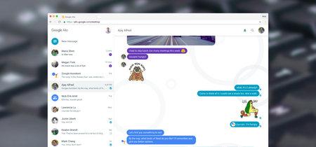 Google Allo ya está disponible desde la web, y con él debuta Google Assistant en el escritorio