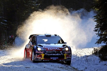 Rally de Suecia 2012: Mikko Hirvonen asciende a la primera plaza