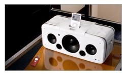 Concerto Bianco, funda de piel para el iPod HiFi