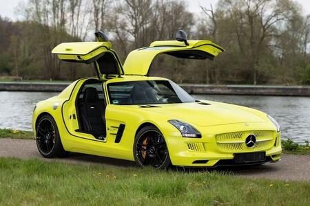 Mercedes SLS AMG Electric Drive: una de las nueve unidades fabricadas está a la venta por más de 30 millones de pesos