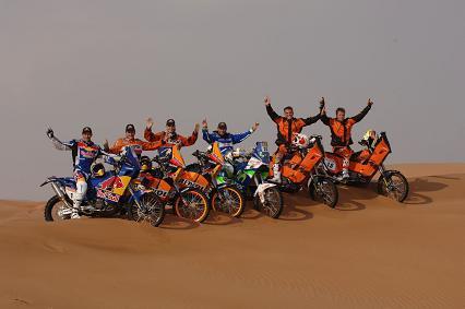 Dakar 2008: en KTM ya están preparados