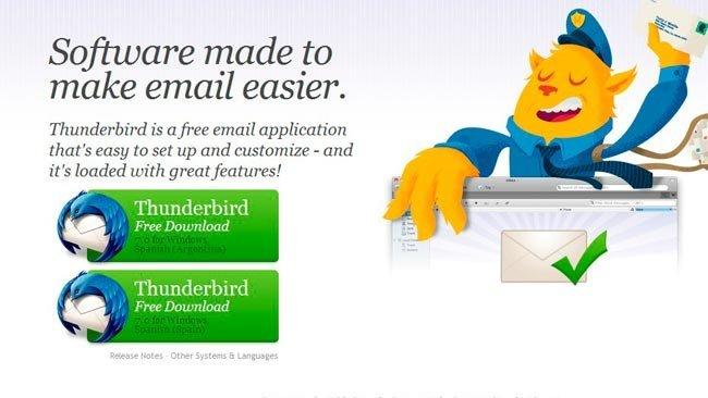 Mozilla Thunderbird 7.0
