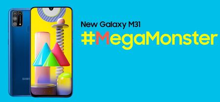 Samsung Galaxy M31: batería monstruosa y cámara cuádruple para un Samsung muy barato