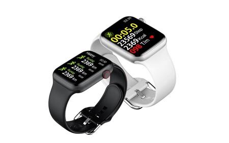 El reloj inteligente que arrasa en AliExpress tiene estética de Apple Watch y un precio de derribo: 24 euros con envío desde España