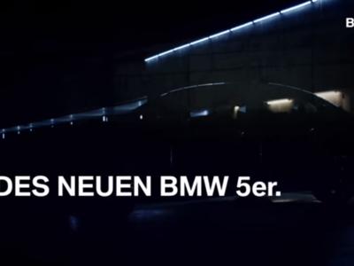 Si miras con atención, verás al nuevo BMW Serie 5 en este video-teaser