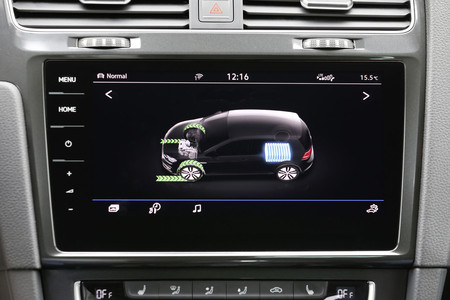 Volkswagen e-Golf indicador energía