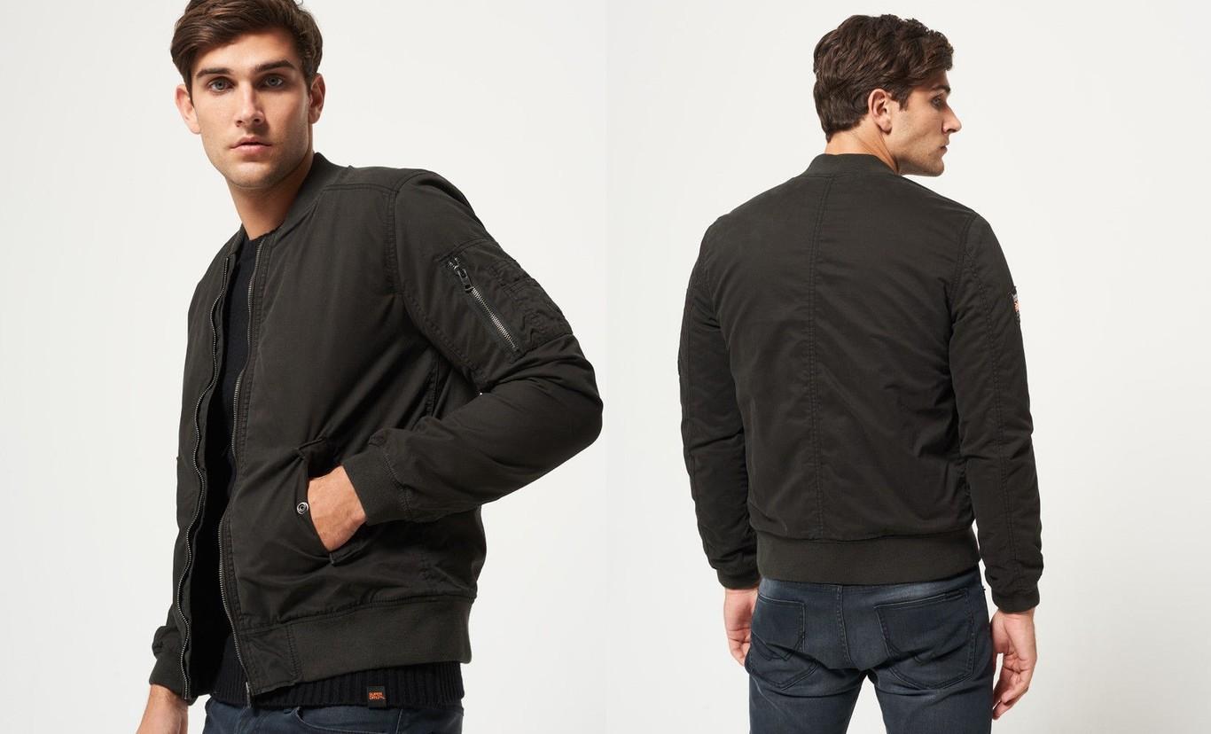 reputable site 49242 3a696 Por 41,95 euros podemos hacernos con la chaqueta para hombre Superdry  Rookie Winter Duty Bitter en negro en eBay