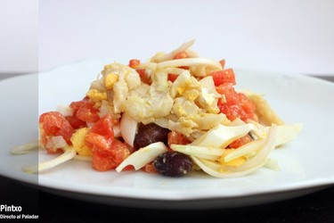 Receta de ensalada murciana