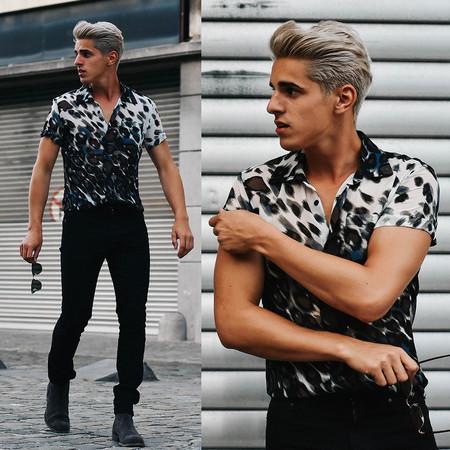 Cabello Platinado Tendencia Color Hombre Trendencias