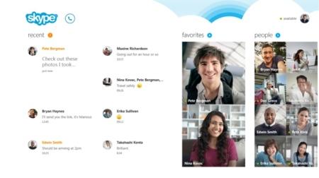Skype para Windows 8 ya está disponible para su descarga desde la tienda de aplicaciones
