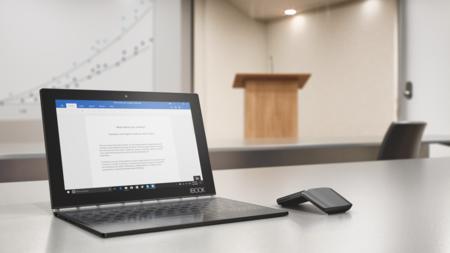 Lenovo Yoga Book, la tableta que vino del futuro para cambiarlo todo en el mercado Android