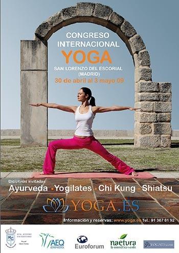 Los secretos del yoga, en un congreso internacional en El Escorial