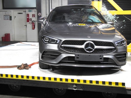 Mercedes Cla Euro Ncap