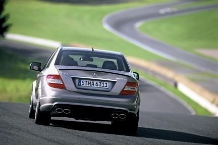 Fotos oficiales del Mercedes-Benz C 63 AMG