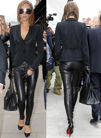 El look de Victoria Beckham en Londres