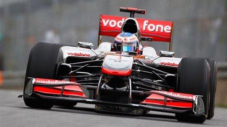 GP de Canadá 2010: Los motores Mercedes mandan, con Jenson Button en primera posición