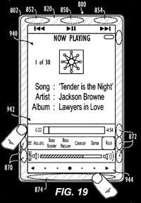 ¿Es ésta la auténtica patente del nuevo iPod?