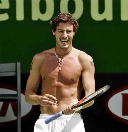 Marat Safin, el tenista más sexy del año