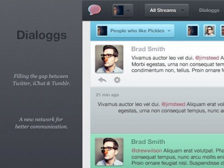 dialoggs interfaz mensajes