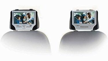 Mustek PD77, reproductor de DVD con doble pantalla