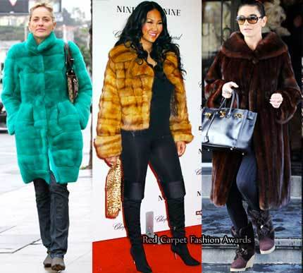 Chalecos y abrigos de pieles