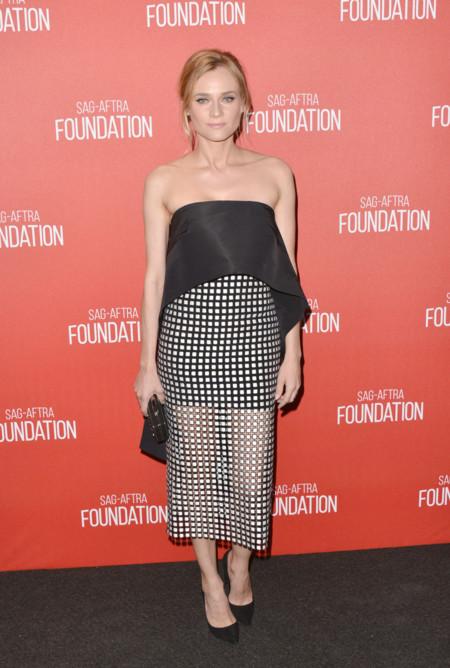 Diane Kruger Monique Lhuillier Screen Actors Guild Foundation 30th Anniversary 2