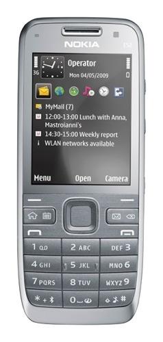 Nokia E52 destaca por su autonomía
