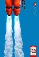 '6 héroes', tráiler y cartel de la primera película animada de Marvel y Disney