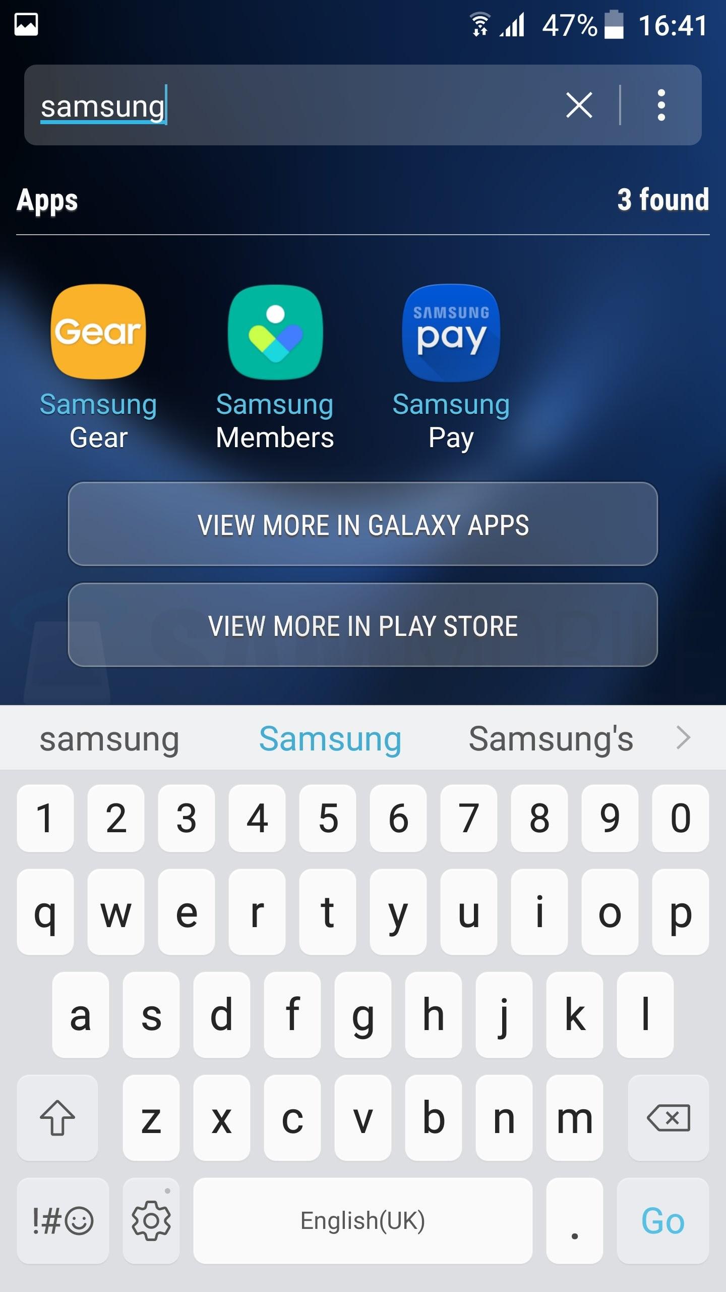 Capturas Android 7.0 Nougat en el Samsung Galaxy S7