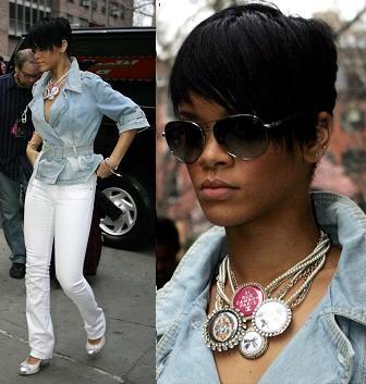 El collar Chanel de Rihanna