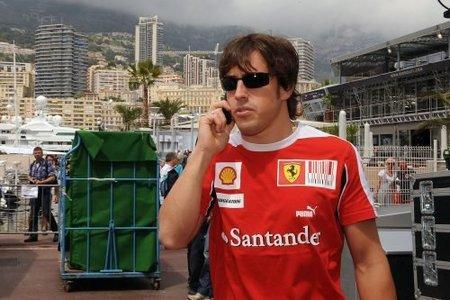 GP de Mónaco 2010: Fernando Alonso el más rápido de los primeros libres con Vettel y Kubica tras su estela