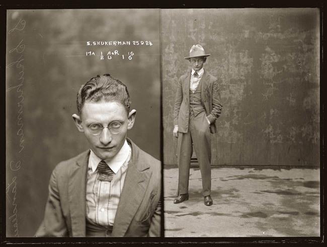 Delincuentes por la policía de Sidney años 20 -2