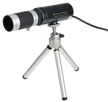 Webcam-telescopio por USB
