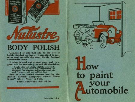 Bricopasión™ Vintage: Pintar el coche cuando aún no hay tutoriales en internet (ni internet)