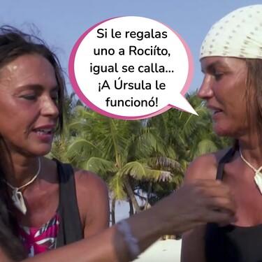 """Desafortunado comentario de Marta López a Olga Moreno sobre Rocío Carrasco en 'Supervivientes': """"Eres madraza con los tres por igual, hay madres biológicas que no"""""""