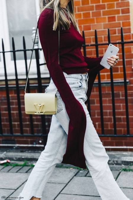 London Fashion Week Spring Summer 16 Lfw Street Style Collage Vintage Long Sleeves 790x1185