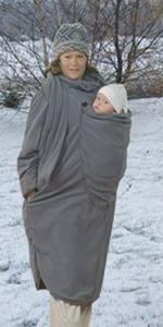 Abrigo Ergo Baby: lleva a tu bebé como un canguro