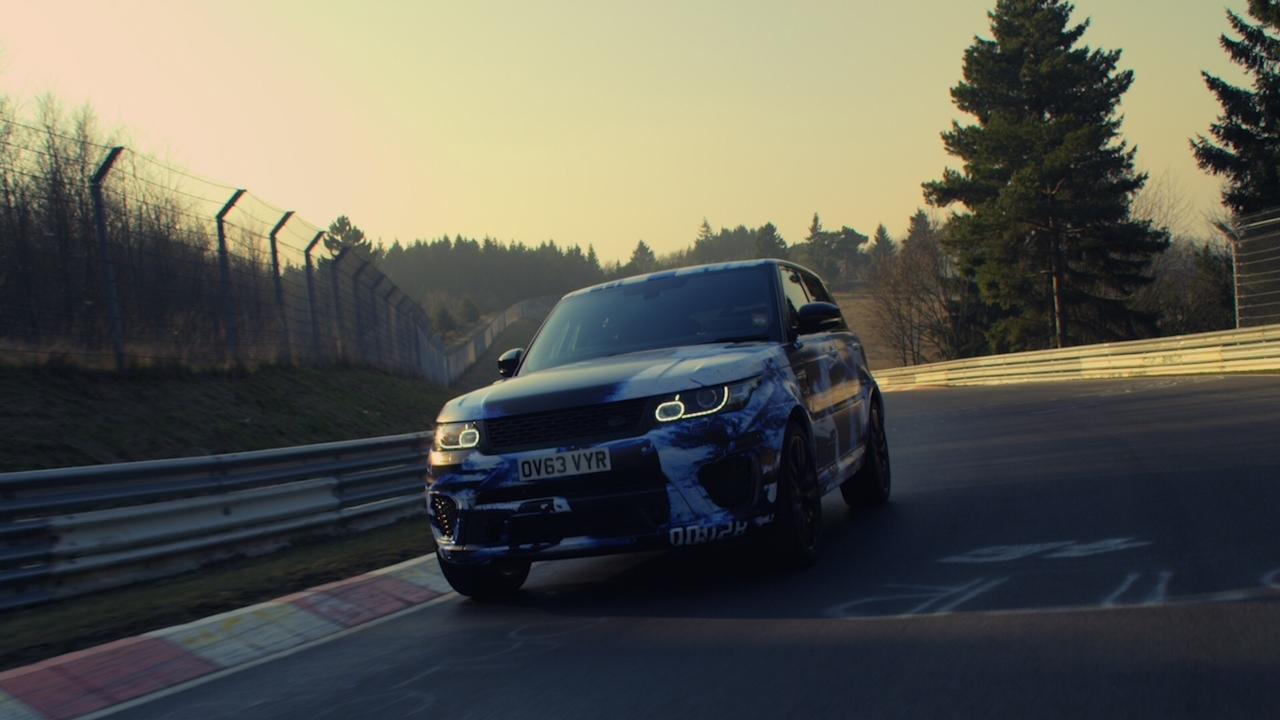 Range Rover Sport SVR - Nürburgring